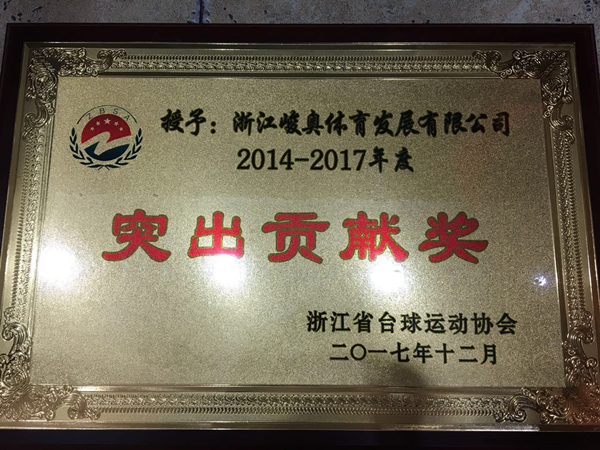 2014-2017年度突出贡献奖-峻奥